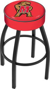 Holland University of Maryland Blk Bar Stool