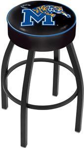Holland University of Memphis Blk Bar Stool