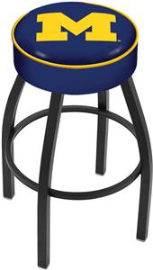 Holland University of Michigan Blk Bar Stool