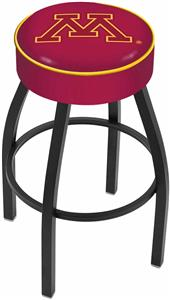 Holland University of Minnesota Blk Bar Stool