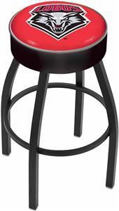 Holland University of New Mexico Blk Bar Stool