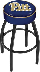 Holland University of Pittsburgh Blk Bar Stool