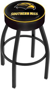 Holland Univ. Southern Mississippi Blk Bar Stool