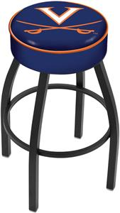 Holland University of Virginia Blk Bar Stool