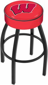 Holland Univ. of Wisconsin W Blk Bar Stool