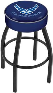 Holland United States Air Force Blk Bar Stool