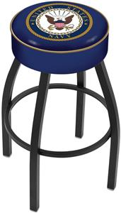 Holland United States Navy Blk Bar Stool