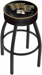 Holland Wake Forest University Blk Bar Stool