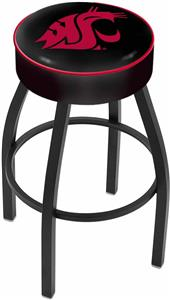 Holland Washington State University Blk Bar Stool