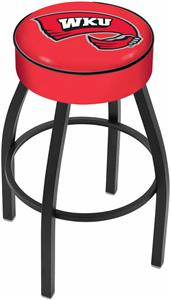 Holland Western Kentucky University Blk Bar Stool