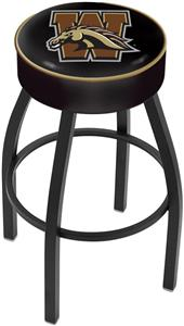 Holland Western Michigan University Blk Bar Stool