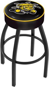 Holland Wichita State University Blk Bar Stool