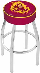 Holland Arizona State Univ Chrome Bar Stool