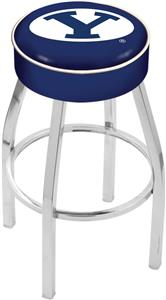 Holland Brigham Young University Chrome Bar Stool