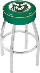 Holland Colorado State University Chrome Bar Stool