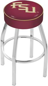 Holland Florida State Script Chrome Bar Stool