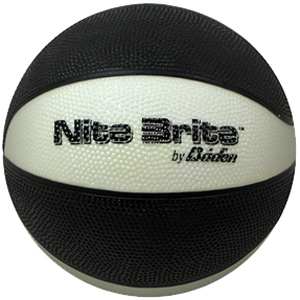Baden Nite Brite Mini Glow-in-the-Dark Basketball