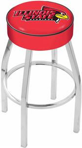 Holland Illinois State University Chrome Bar Stool