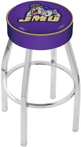 Holland James Madison University Chrome Bar Stool