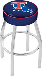 Holland Louisiana Tech Univ Chrome Bar Stool