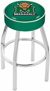 Holland Marshall University Chrome Bar Stool