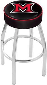 Holland Miami University (OH) Chrome Bar Stool