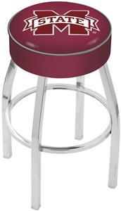 Holland Mississippi State Univ Chrome Bar Stool