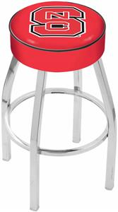 Holland North Carolina State Univ Chrome Bar Stool