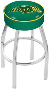 Holland North Dakota State Univ Chrome Bar Stool