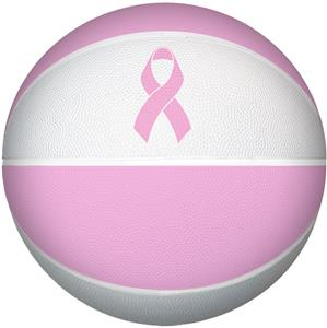 "Baden Specialty 28.5"" Pink/White NBCF Basketball"