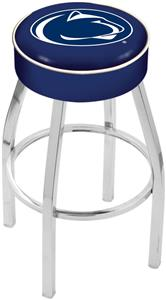 Holland Pennsylvania State Univ Chrome Bar Stool