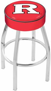 Holland Rutgers University Chrome Bar Stool