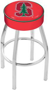 Holland Stanford University Chrome Bar Stool