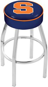 Holland Syracuse University Chrome Bar Stool