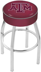 Holland Texas A&M Chrome Bar Stool