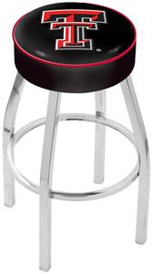 Holland Texas Tech Univ Chrome Bar Stool