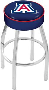 Holland University of Arizona Chrome Bar Stool
