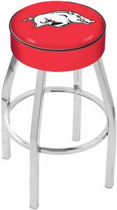 Holland University of Arkansas Chrome Bar Stool