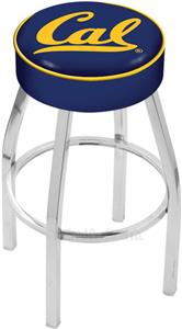 Holland University of California Chrome Bar Stool