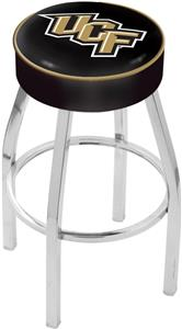 Holland Univ of Central Florida Chrome Bar Stool