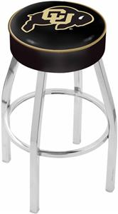 Holland University of Colorado Chrome Bar Stool