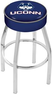 Holland University of Connecticut Chrome Bar Stool