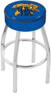 Holland Univ. of Kentucky Cat Chrome Bar Stool