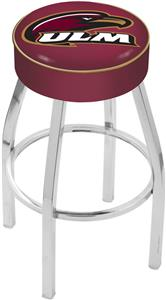 Holland Univ. Louisiana at Monroe Chrome Bar Stool