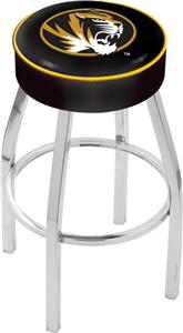 Holland University of Missouri Chrome Bar Stool