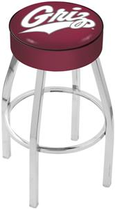 Holland University of Montana Chrome Bar Stool
