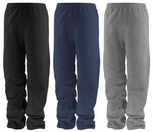 Soffe Adult Open Bottom Fleece Sweatpants