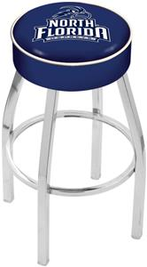 Holland Univ North Florida Chrome Bar Stool