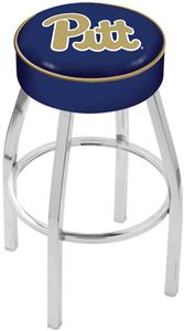 Holland University of Pittsburgh Chrome Bar Stool