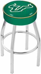 Holland Univ of South Florida Chrome Bar Stool
